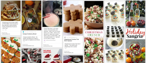 Use great holiday recipes to drive traffic to your Pinterest page!